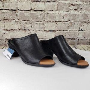 Women's open toe clogs